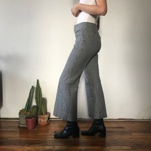Vintage Houndstooth Pants